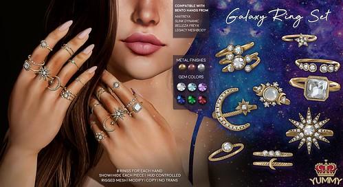 (Yummy) Galaxy Ring Set for C88