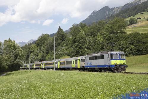 Re 420 502 . BLS . RE 4068 . Erlenbach im Simmental . 20.07.19.