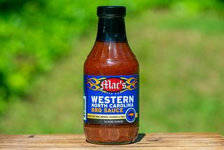 Mac's Speed Shop Western North Carolina BBQ Sauce