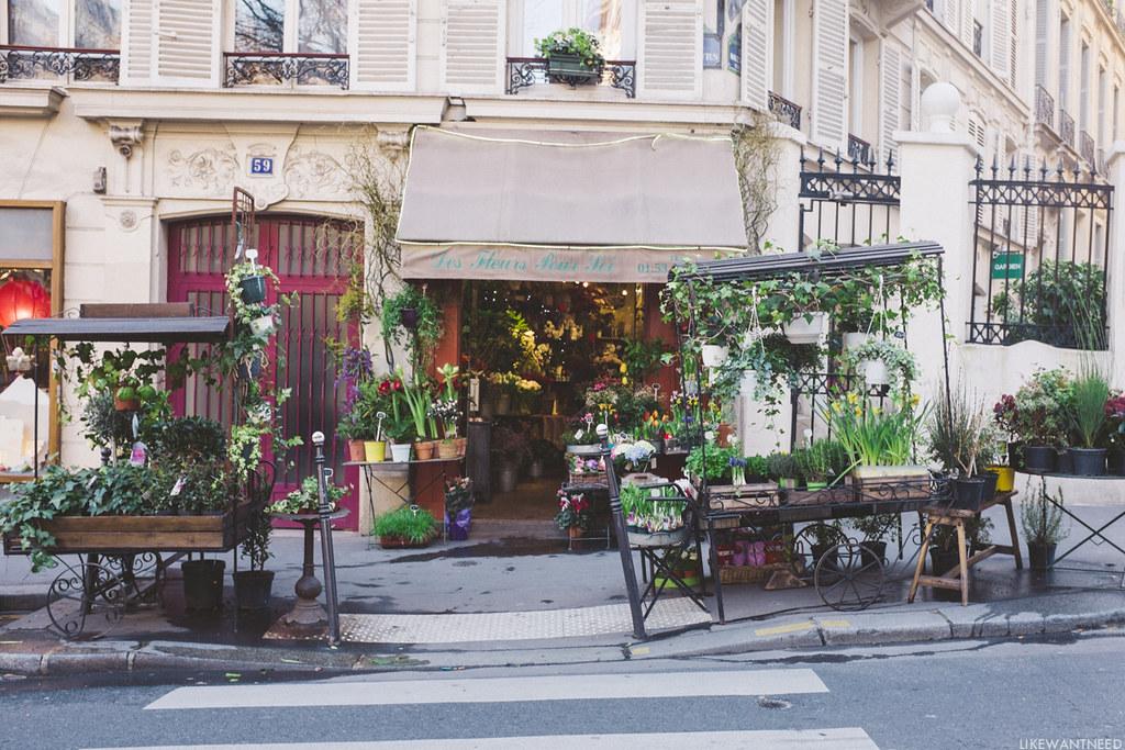 Fleuriste, Rue des Martyrs