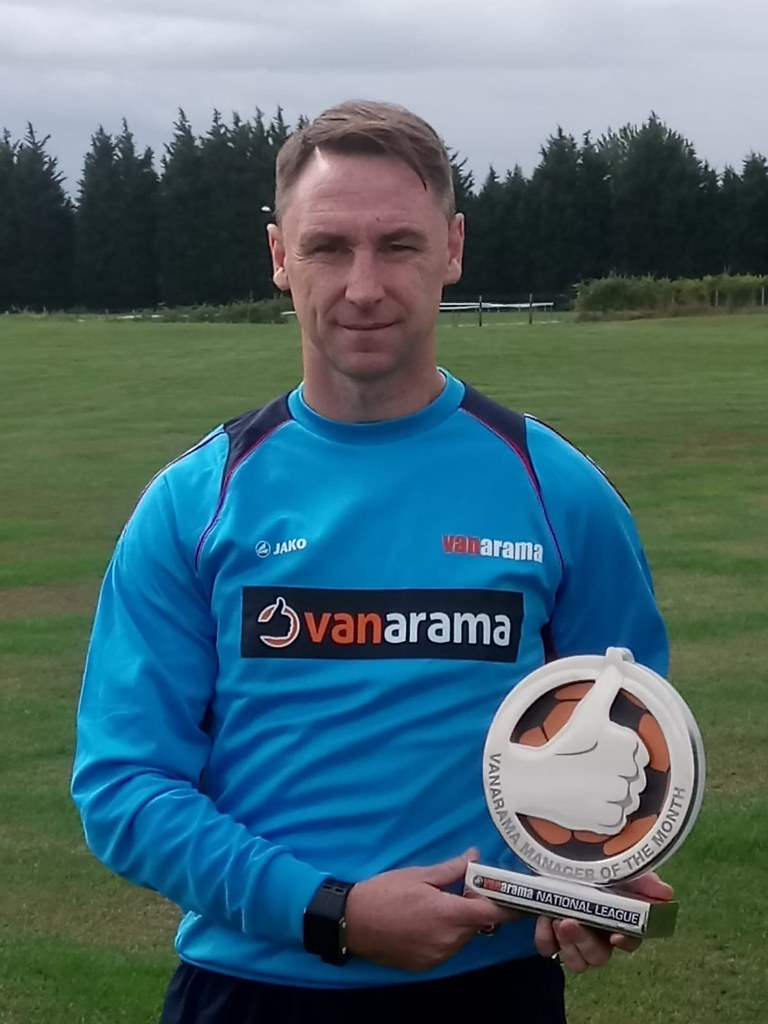 07-09-2018 Jamie Fullarton Manager of the Month August 2018