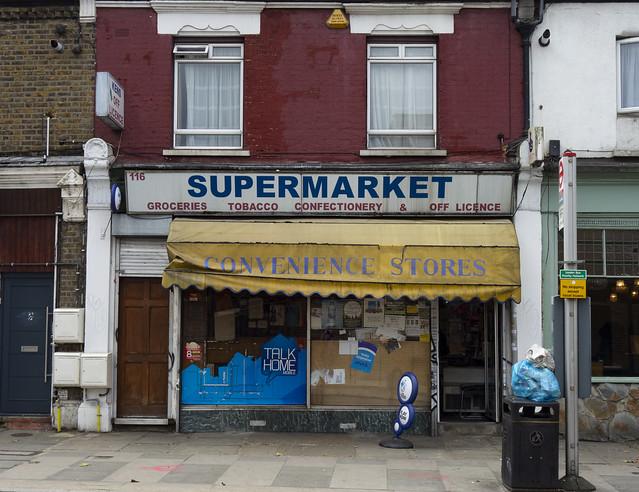 Supermarket, Brockley Way, Honor Oak