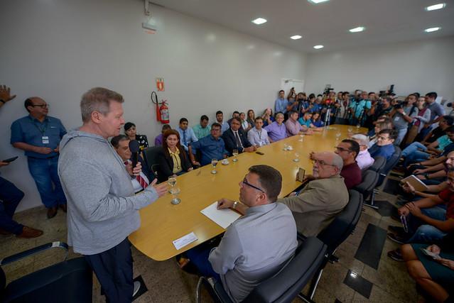 07.08.19 prefeito Arthur anuncia reforma de 42 espaços públicos esportivos
