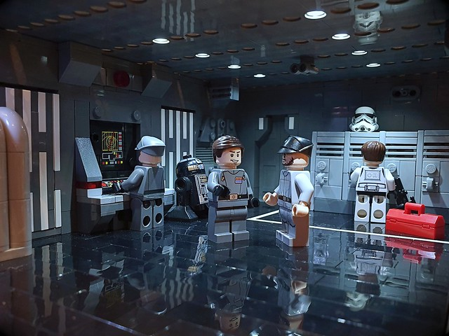 LEGO Star Wars Imperial Crew Room