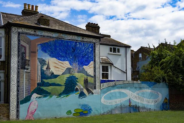 William Blake Mural, Peckham Rye