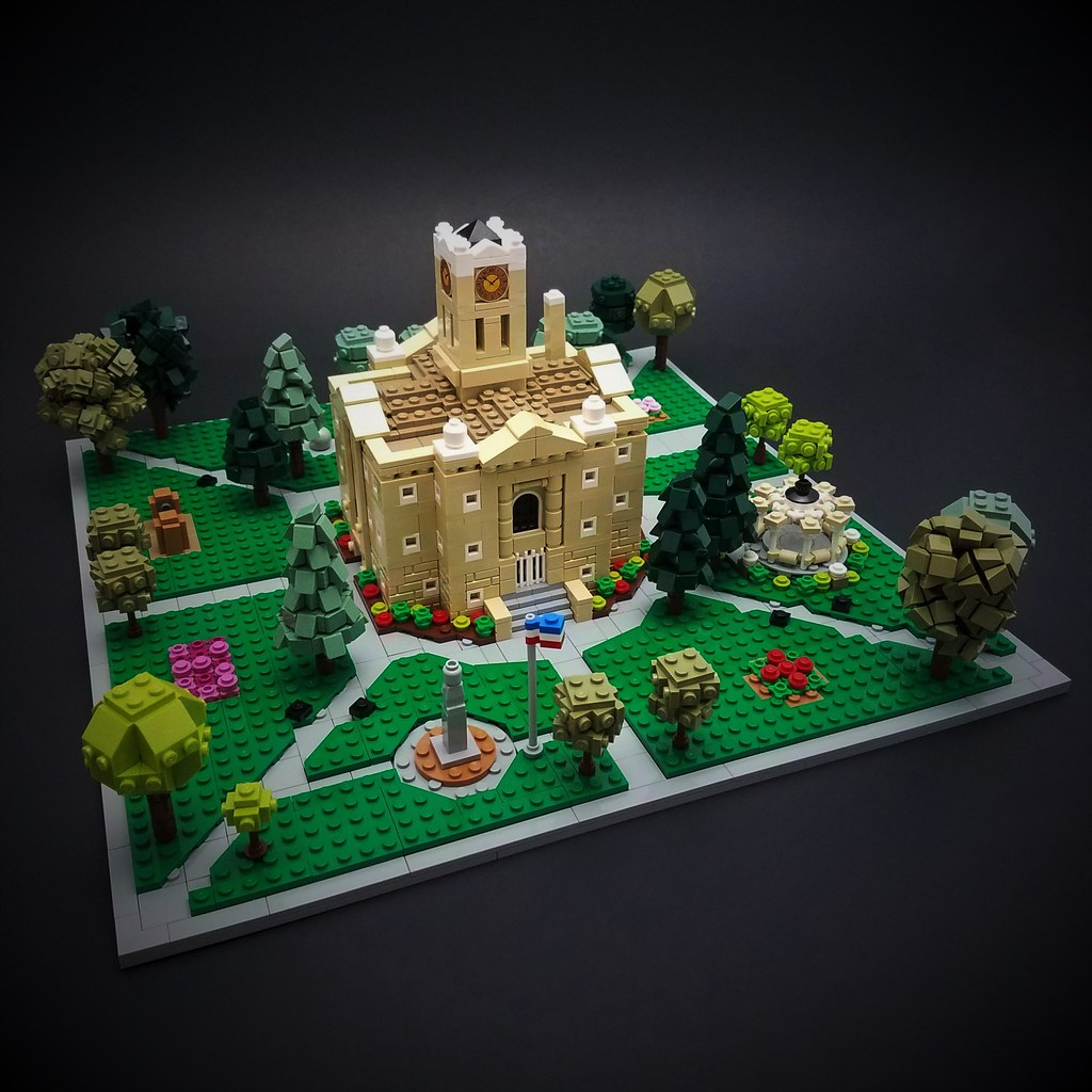 Courthouse (custom built Lego model)