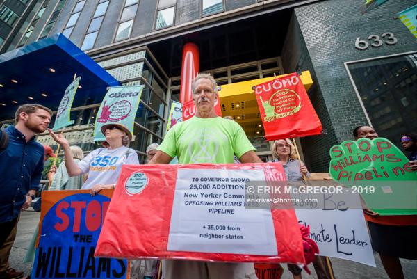 Activists urge Cuomo to stop Williams Pipeline