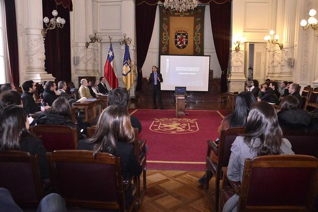 #EnTerreno : Alcalde se reúne con estudiantes de Magíster de Universidad de Los Andes