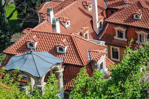 architecture prague roof