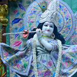 ISKCON Juhu Mangal Deity Darshan on 8th Aug 2019