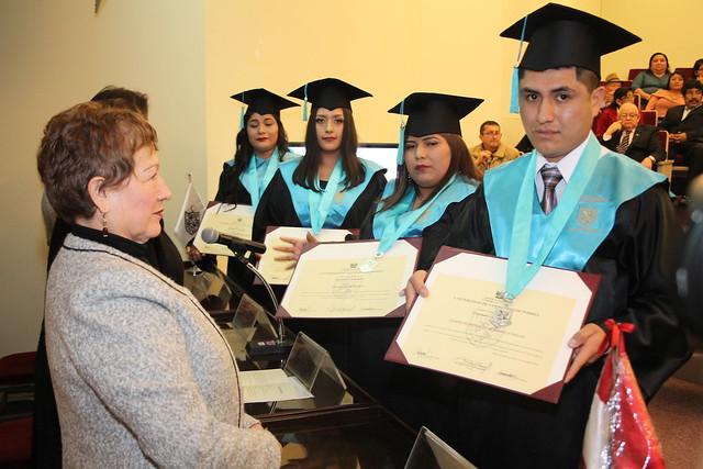 Facultad de Obstetricia y Enfermería de la USMP realizó ceremonia de titulación de nuevos profesionales en Enfermería