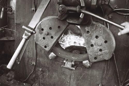 Firebox of Steam Locomotive
