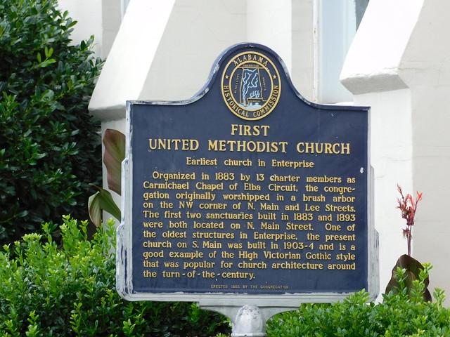 First United Methodist Church Historic Marker