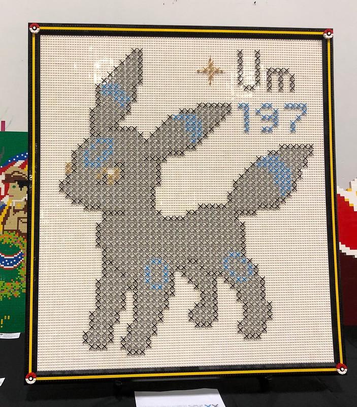 Cross-stitch Mosaic by SuzEaton 2019