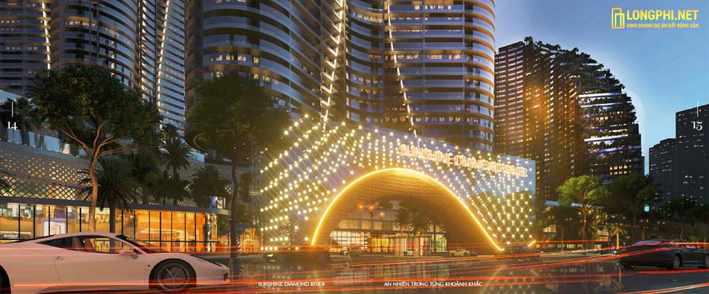 Thiết kế lung linh của căn hộ Sunshine Diamond River.