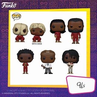 驚悚片角色也化身大頭人偶來襲! Funko Pop! Movies《逃出絕命鎮》、《我們》Get Out、Us 公開!!