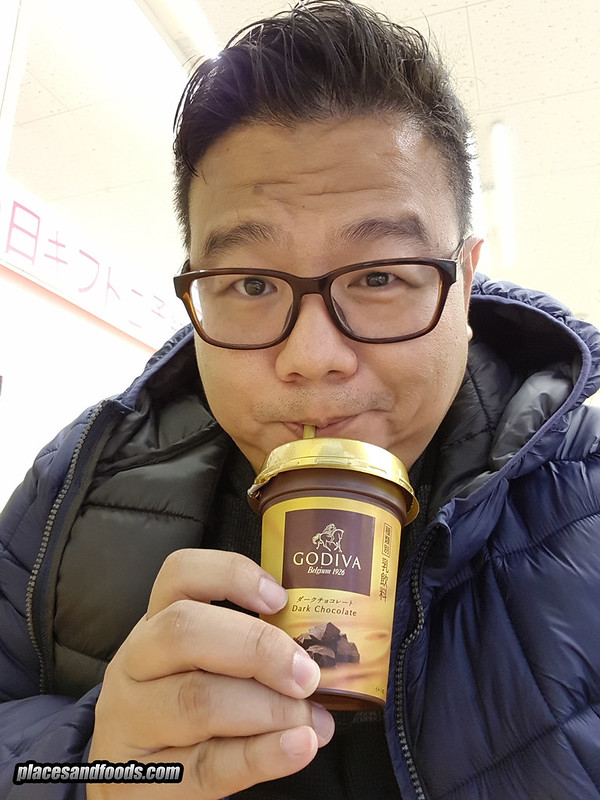godiva dark chocolate drink japan places and foods