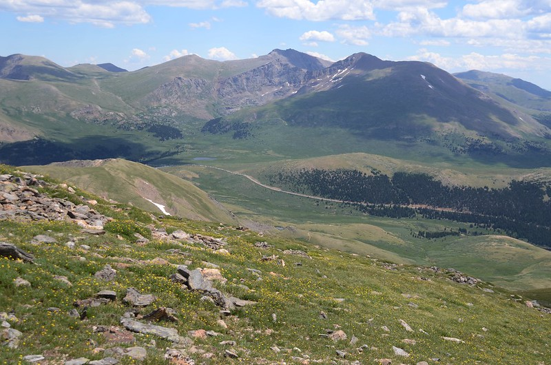 Looking east at Mount Evans & Bierstadt from Square Top Mountain Trail (14)