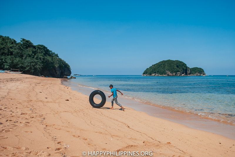 CATANDUANES Itinerary: sakahon beach