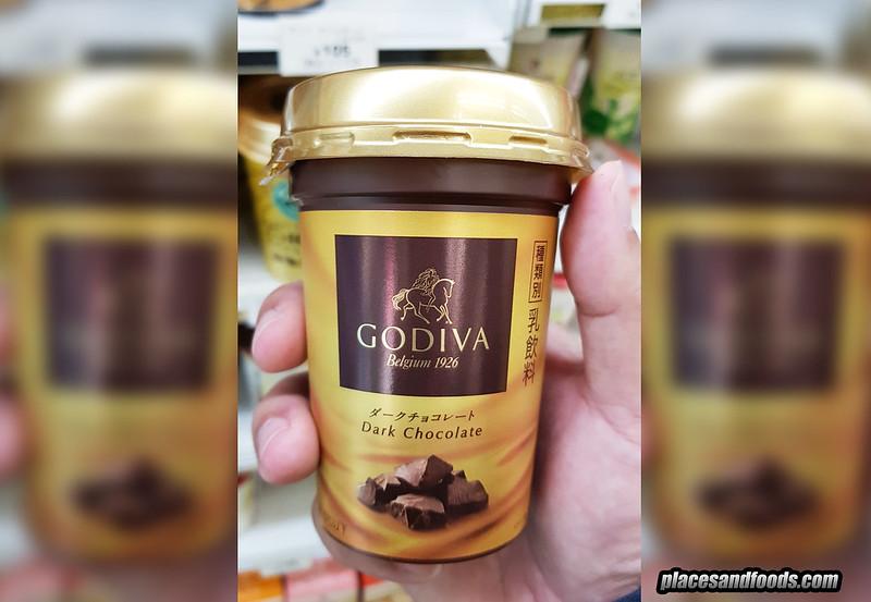 godiva dark chocolate drink