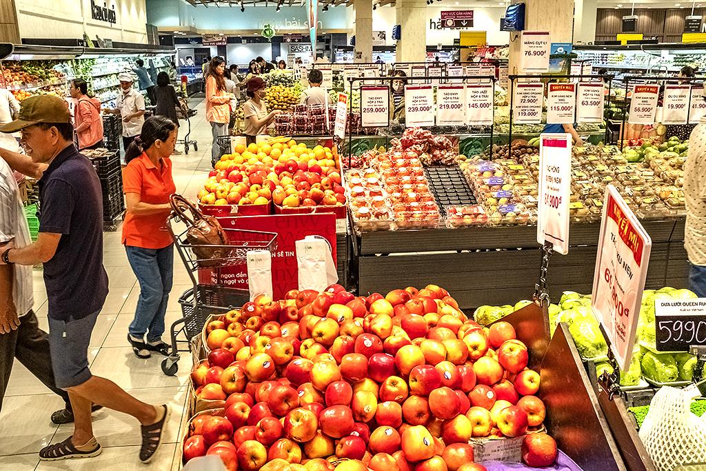 Supermarket at Eon Mall in Bình Tân-Saigon