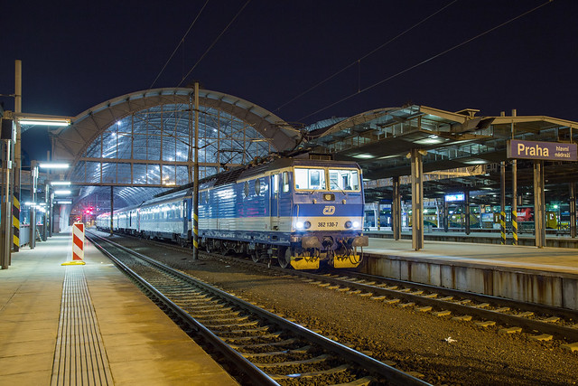 ČD 362 130 Praha hl n