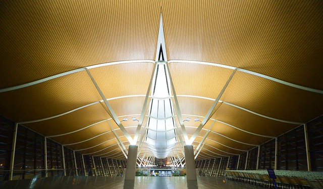 Shanghai - Pudong Airport Terminal 2 Interior