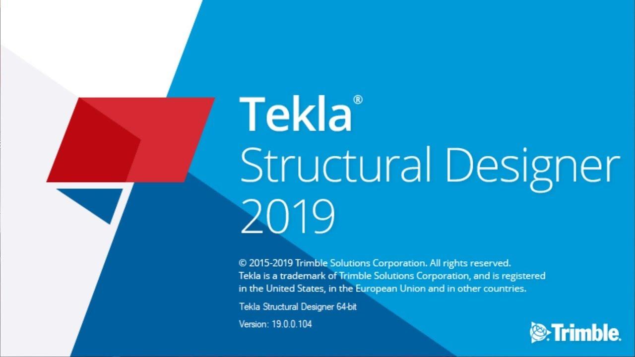 Tekla Structural Designer 2019 full