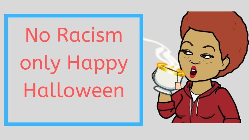 halloween decoration racism