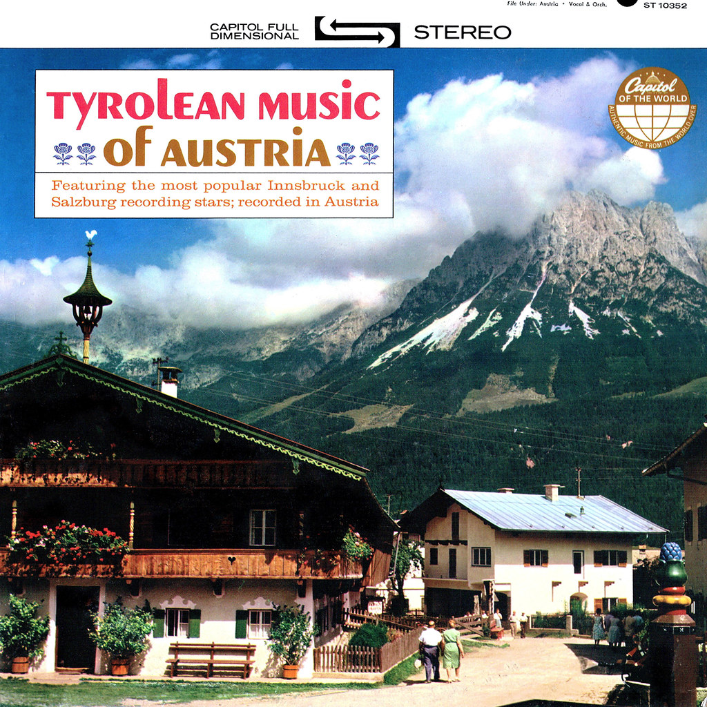 Various Artists - Tyrolean Music of Austria