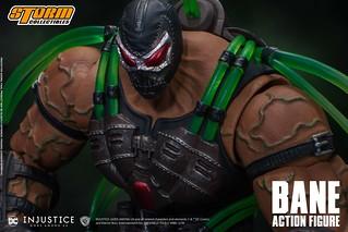 攝入Venom藥劑後的狂暴姿態再現!! Storm Collectibles《超級英雄:武力對決》班恩 Bane 官圖公開!