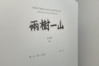 展場照|「兩樹一山—石晉華個展」