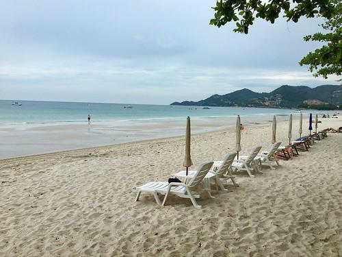 今日のサムイ島 8月8日 穏やかチャウエンビーチ&陸で遊ぼう