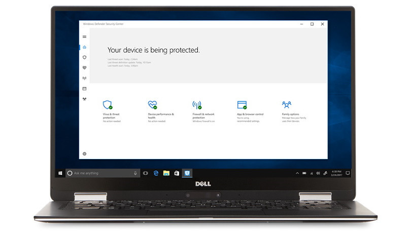 Windows Defender終於被認證為「最佳防毒軟體」