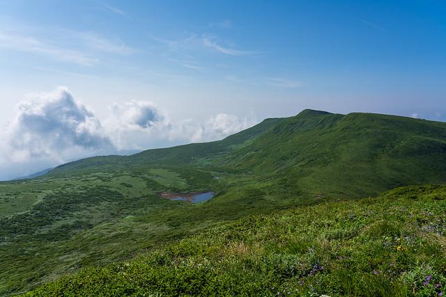 横岳と姥石平