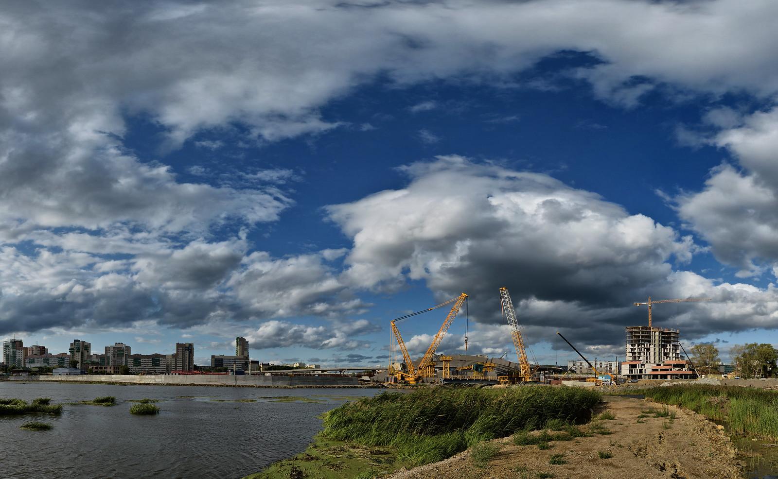 Челябинск - строительство ШОС