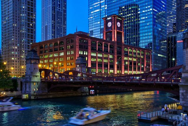 LaSalle Street bridge, Chicago [Explore]