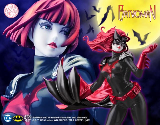 壽屋 DC COMICS美少女 系列【蝙蝠女俠(バットウーマン)2nd Edition】1/7 比例PVC塗裝完成品