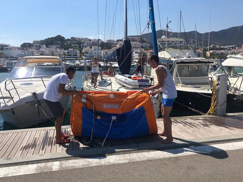 20190808 - cnllanca - capacitacio nautica - salvament i seguretat a mar