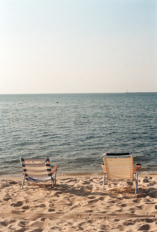 2 reservations for a Beach-Front View :) taken on my Olympus Pen FT half frame w/ Fuji superia 400