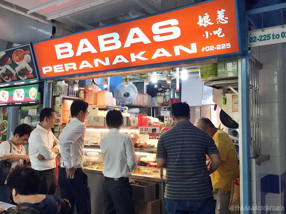 babas peranakan, chap chye peng, chinatown complex, economical rice, food, food review, mixed rice, peranakan, review, singapore, smith street,  娘惹小吃