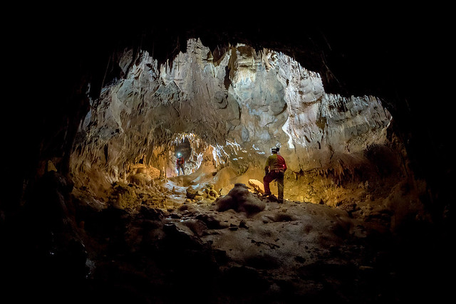 Impossible cave