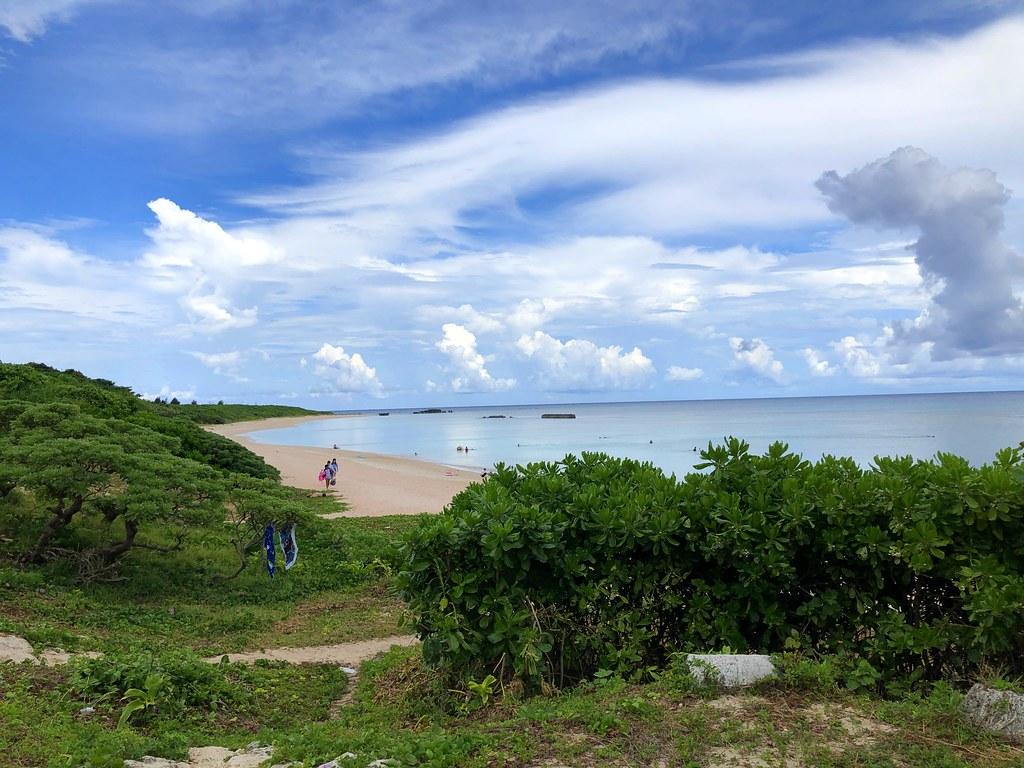 波照間島 ニシ浜。青い海が最高にきれい場所
