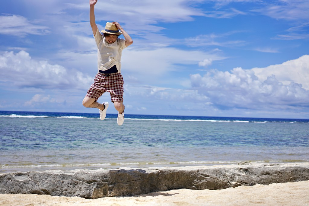 有人島最南端の島にある最南端ビーチ「ペムチ浜」
