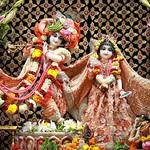 ISKCON Punjabi Bagh Deity Darshan 08 Aug 2019