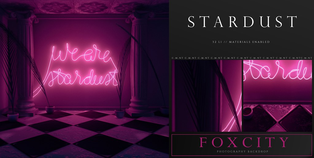 FOXCITY. Photo Booth – Stardust