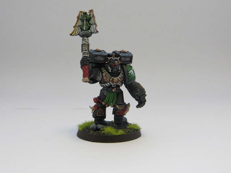 Interrogator Chaplain w Jump Pack II