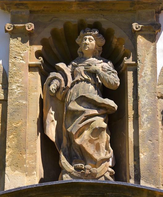 Grauhof, Goslar, Niedersachsen, Klosterkirche, entry, detail