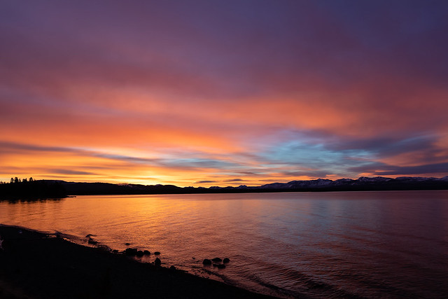 Lake Yellowstone Sunrise