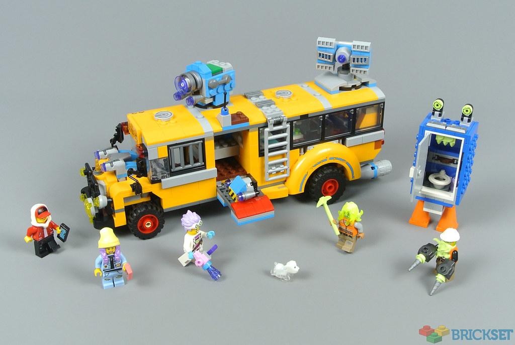 LEGO Hidden Side 70423 Paranormal Intercept Bus 3000 review